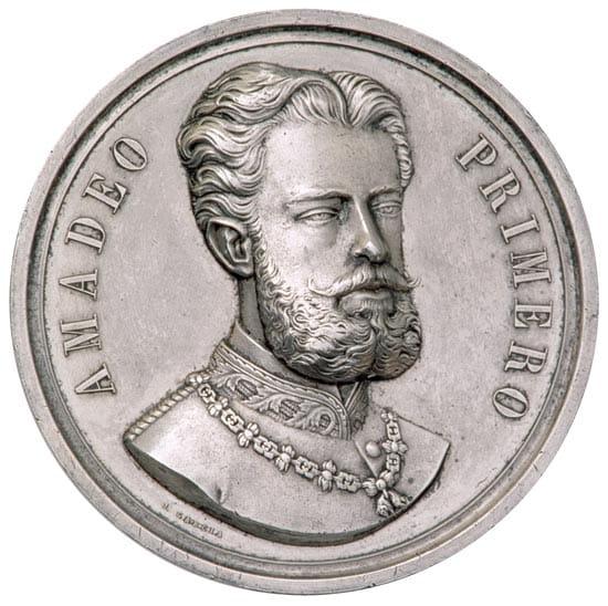 medalla amadeo i saboya