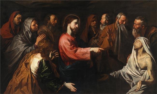 la resurreccion de Lazaro jose de ribera