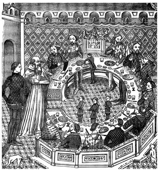 rey arturo y los caballeros de la tabla redonda