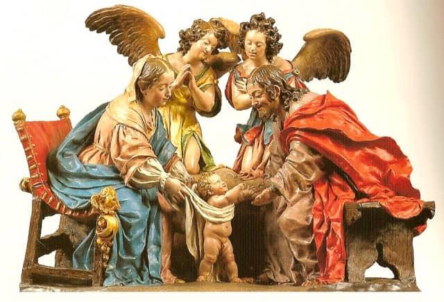 primeros pasos de jesus La Roldana