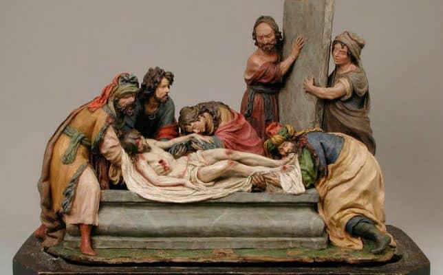 santo entierro la roldana