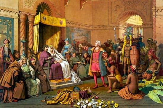 colon ante los reyes catolicos